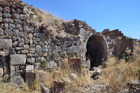 armenia tsahats kar monastery ruins of