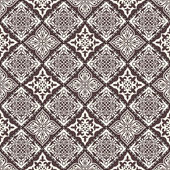 Vector abstract seamless patchwork pattern with geometric and floral  ornaments stylized flowers dots snowflakes and lace Vintage boho style