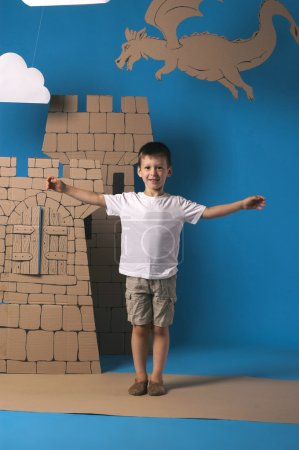 Child and castle