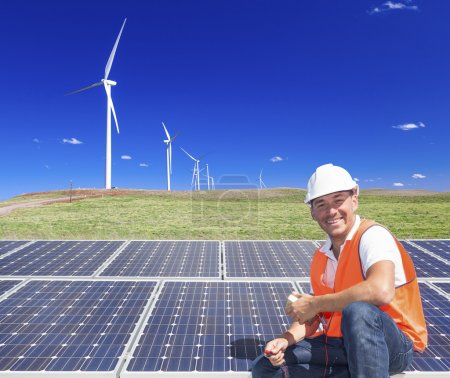 Sustainable energy technician
