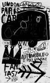 Auto, graffiti, balení