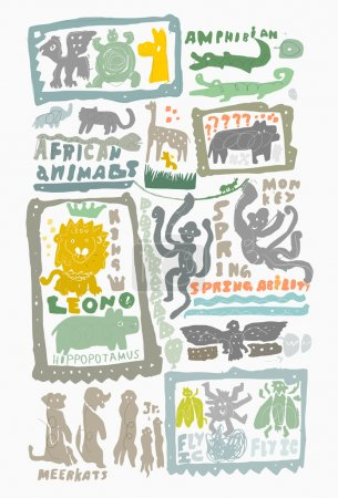 Animal, sturtle, giraffe