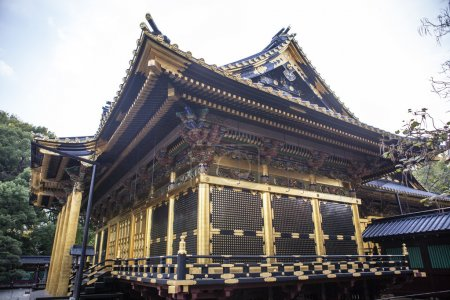 Toshogu Shrine in Ueno Park - Tokyo - Japan
