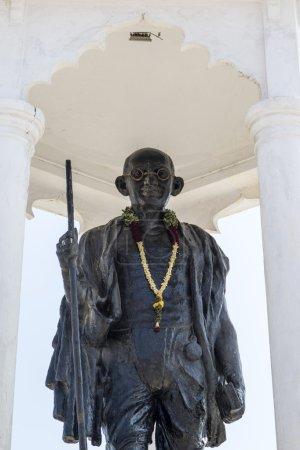 Gandhi statue in Pondicherry Puducherry