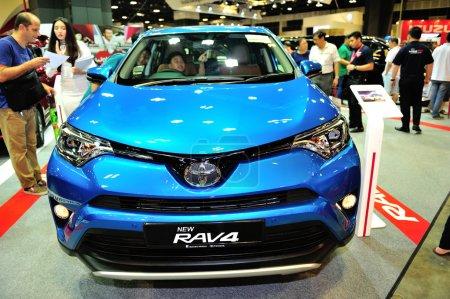 The new Toyota RAV4 display