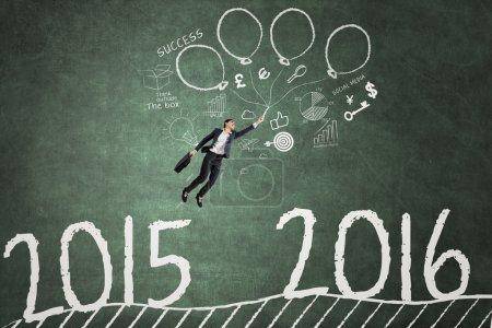 Entrepreneur flying to reach numbers 2016