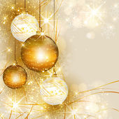 Christmas gold background easy all editable
