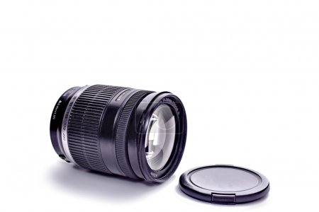 Camera lens isolated