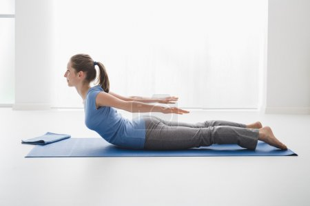 woman practise Yoga pose