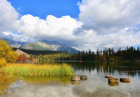 Autumn in Tatry mountains