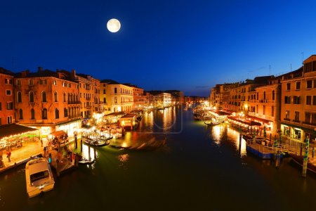 Canal in the evening Venice