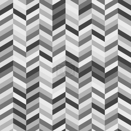 Black and White Zig Zag Abstract Background
