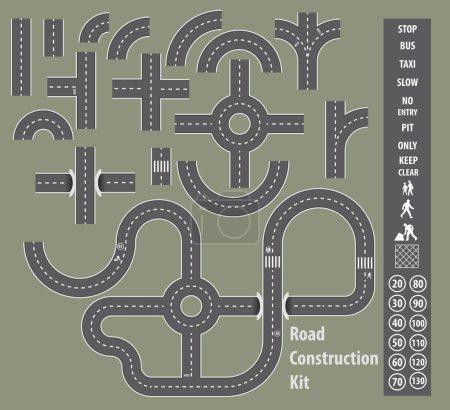 Kit de construction de route