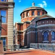 The Columbia University in New York City at blue s...