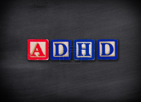Photo for ADHD Attention Deficit Hyperactivity Disorder - Royalty Free Image