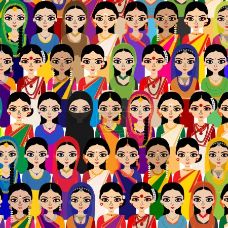 Crowd of Indian Women avatar
