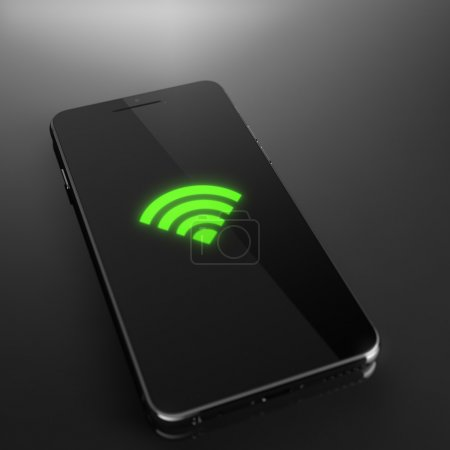 Wi-fi signal on smart phone