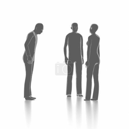 Debate and dialogue concept