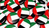 Spojené arabské emiráty vlajky odznaky