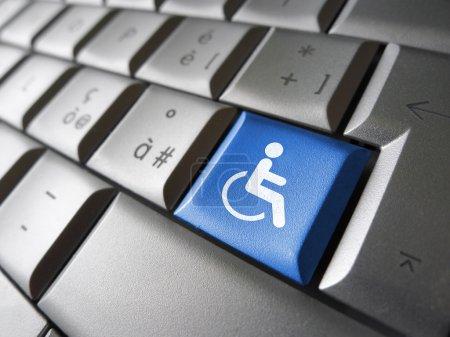 Web Accessibility Computer Key