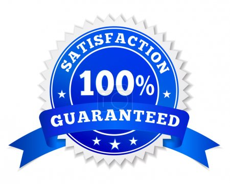 Satisfaction Guaranteed Blue Badge