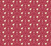 Valentine background seamless wallpaper (vector)