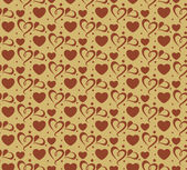Valentine background seamless wallpaper (vector) for your design