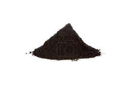 Black iron oxide, magnetite, is used as black pigm...