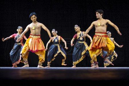 Indian fbharatanatyam dancers