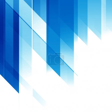 Photo for Blue Abstract Futuristic Background - Royalty Free Image