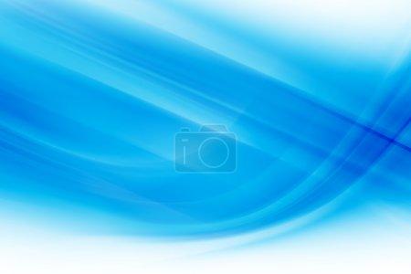 Photo pour Fond abstrait bleu - image libre de droit