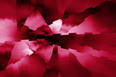 Futuristic Red Abstract Background