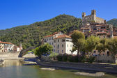 The beautiful small town of Dolceacqua, near Sanremo, Liguria, I