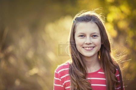Beautiful Teen Girl Portrait outdoors
