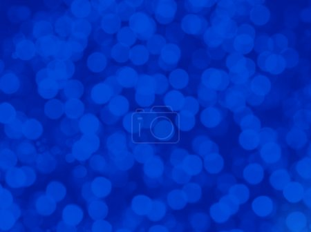 Photo for Cool Blue Bokeh Background - Royalty Free Image