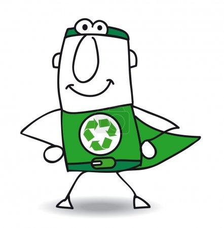 Superhero of recycling is coming back