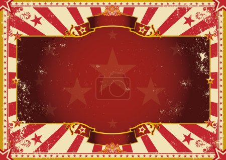 Vintage grunge horizontal background