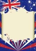 Špinavé australská vlajka
