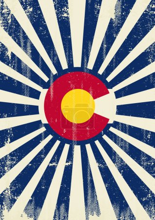 Colorado retro sunbeams