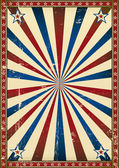 Old poster patriotic background