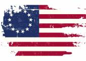 Scratched betsy Ross Flag