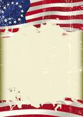 Betsy Ross Flag grunge background