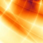 High tech abstract orange pattern design