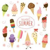 Sladké kolekce Ice Cream