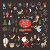 Big Set of Christmas graphic elements