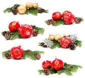 Kolekce fotografií Vánoční dekorace koule