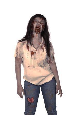 Asian female zombie