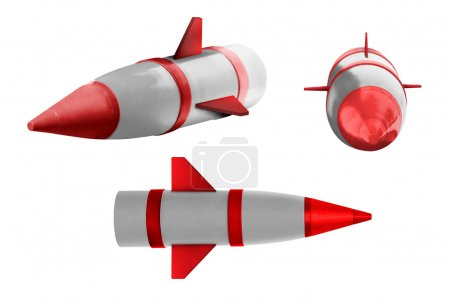 Collection of three rockets