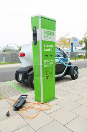 electric car loading station