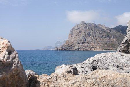 Greek rocky bay